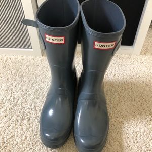 Light Grey Short Hunter Boots!!